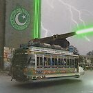 Our Top Secret Bedford Bus Mounted Directed Energy Torpedo Cannon by Kenny Irwin