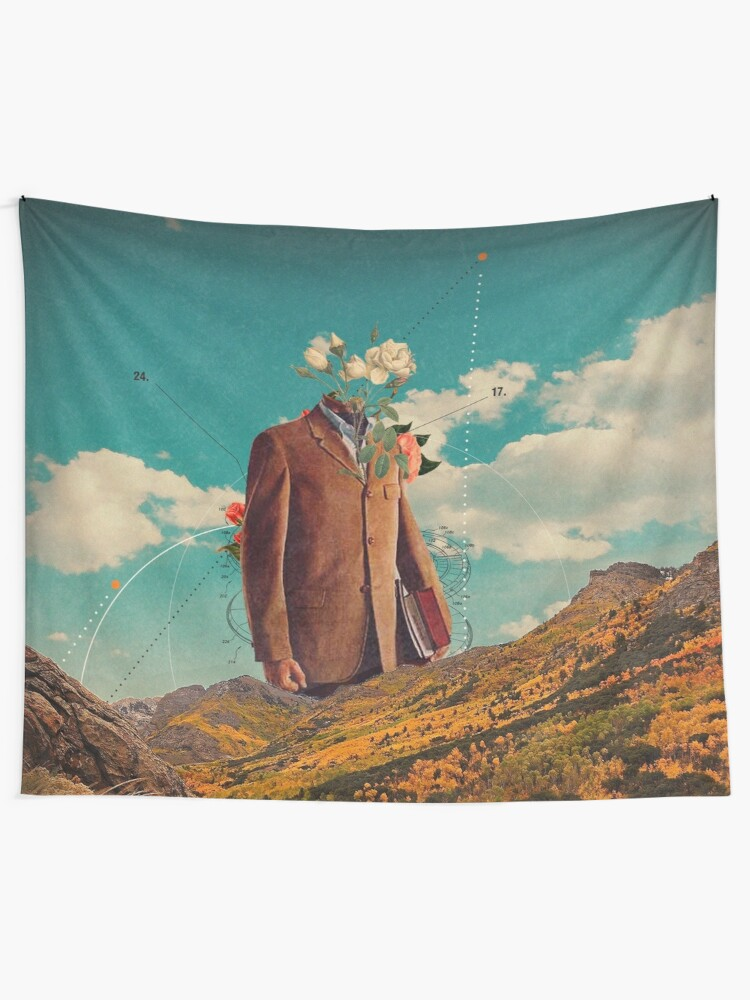 Alternate view of Sometimes I Think You'll Return Tapestry