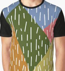 Raining Mountains Graphic T-Shirt