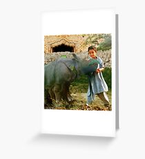 Friendship Strengthened Through Our Cosmic Diversity That No Amount Of Light Years Can Separate. Greeting Card