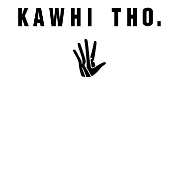Kawhi Tho (Black Font) by opiester