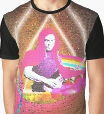 Dark side of the gilmour - pixel version Graphic T-Shirt