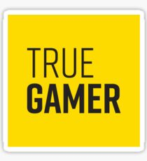 True Gamer #2 Sticker