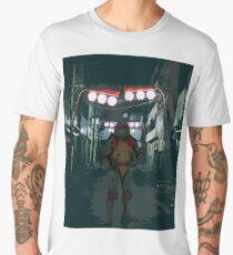 TMNT - Raphael in alley Men's Premium T-Shirt