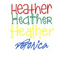 3 Heathers and a Veronica by wannabecait