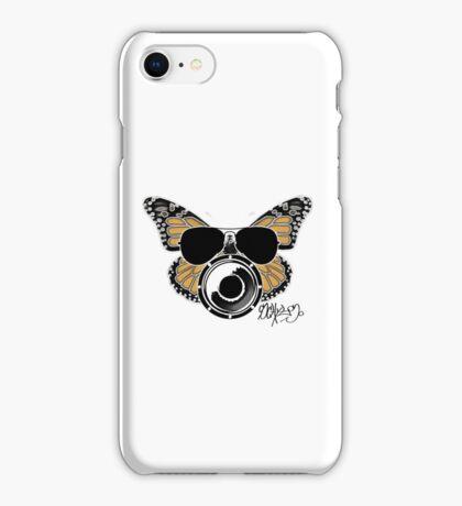 Butterbeat in Aviators iPhone Case/Skin