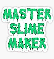 Master Slime Maker Sticker