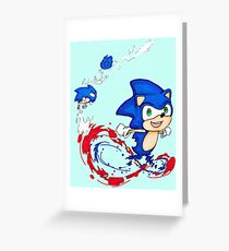 Got to go fast!! Greeting Card