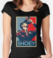 Daniel Ricciardo Shoey  Women's Fitted Scoop T-Shirt