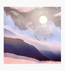 Lavender Night Photographic Print