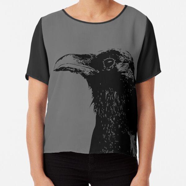 Crow Chiffon Top