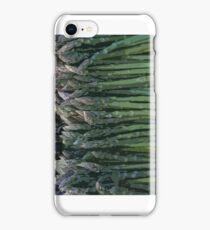 Asparagus as art iPhone Case/Skin