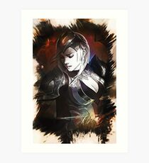 League of Legends CHAMPIONSHIP ASHE Art Print