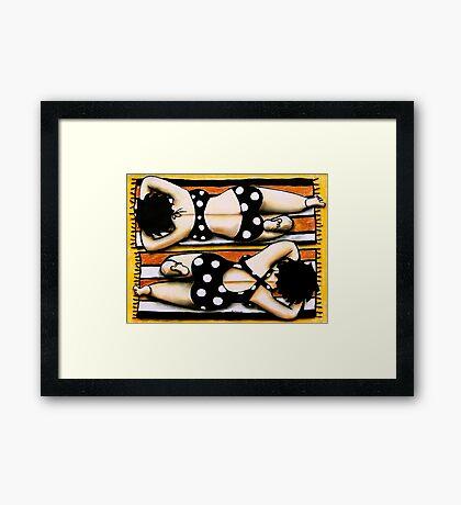 Dot and Spot Framed Print