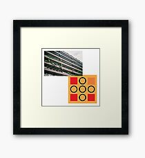 brutalism 1 Framed Print