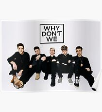 Why don't we Merch (updated) Poster