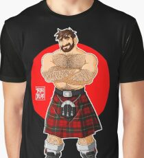 ADAM LIKES KILTS - SHIRTLESS Graphic T-Shirt