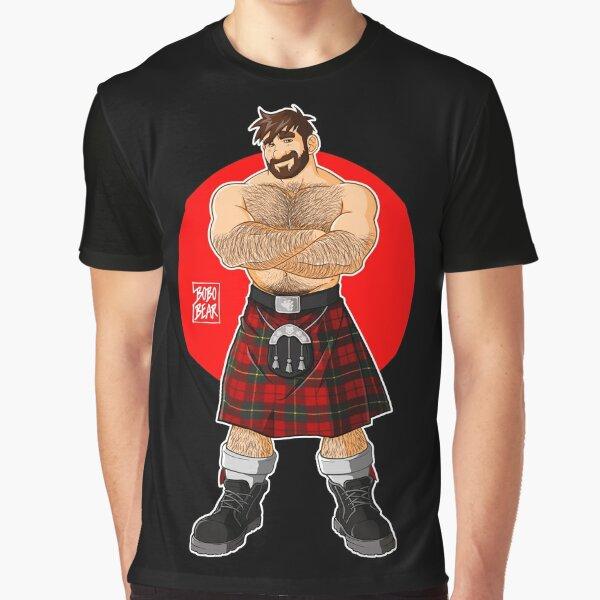 ADAM LIKES KILTS - SHIRTLESS Graphic T-Shirt