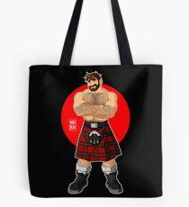 ADAM LIKES KILTS - SHIRTLESS Tote Bag