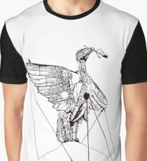 The Liver Bird on top of the Liverbuilding, Liverpool Graphic T-Shirt