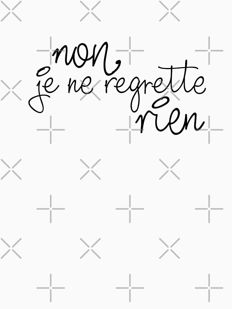 Non, je ne regrette rien by feministlove