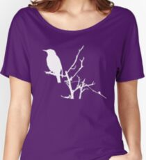Little Birdy - White Women's Relaxed Fit T-Shirt
