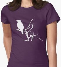 Little Birdy - White Women's Fitted T-Shirt