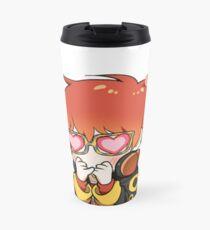 mystic messenger: 707 emoticon (+ larger design) Travel Mug