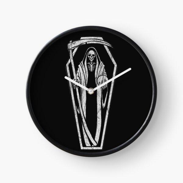 Santa Muerte Clock