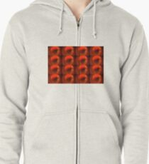 Eye Very Red Tiny Zipped Hoodie