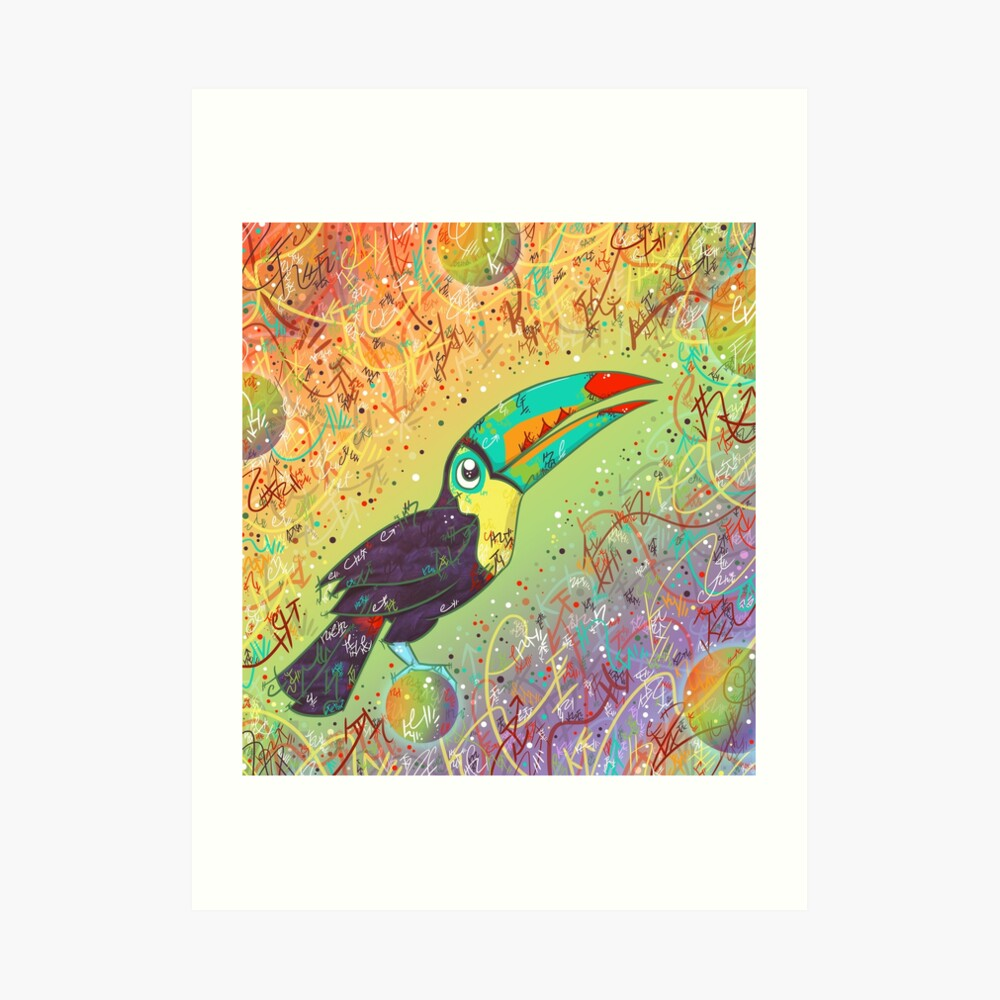 Toucan Can Do it! Art Print