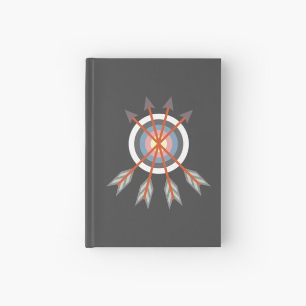 Archery Target Hardcover Journal