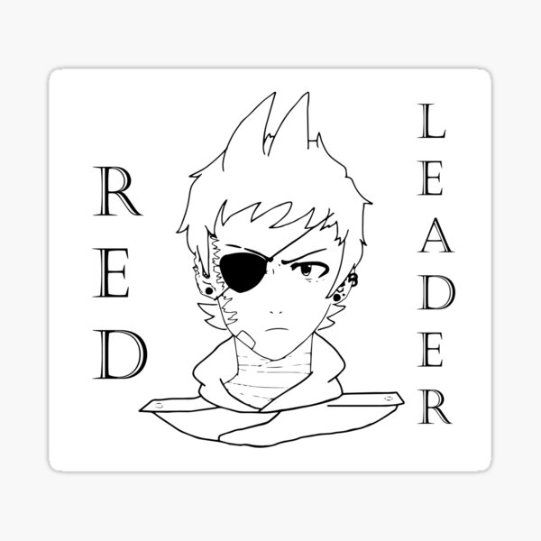 RED LEADER Sticker