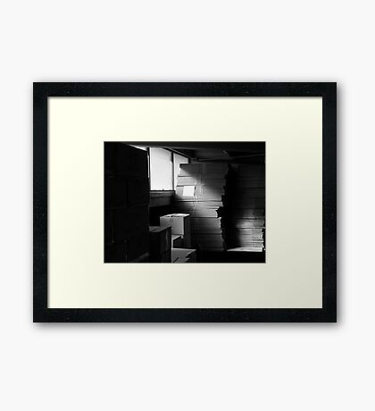 A play on Light II Framed Print