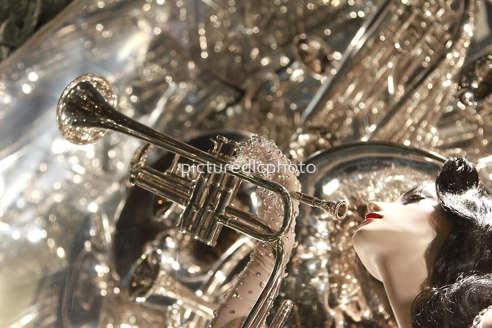 Art Deco Trumpet  by picturedlcphoto