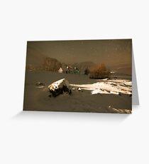 Blackrock Cottage, Glencoe, Scotland. Greeting Card