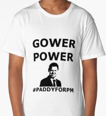 GOWER POWER Feel The Paddy Love! Long T-Shirt