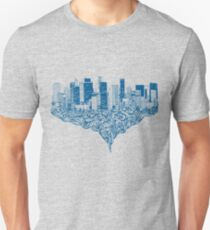 a city dissected Unisex T-Shirt