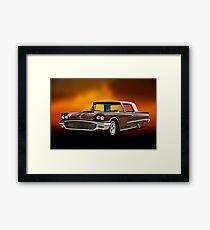 1958 Ford Thunderbird Custom Low Rider III Framed Print
