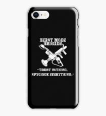 BEAST-MODE BRIGADE iPhone Case/Skin