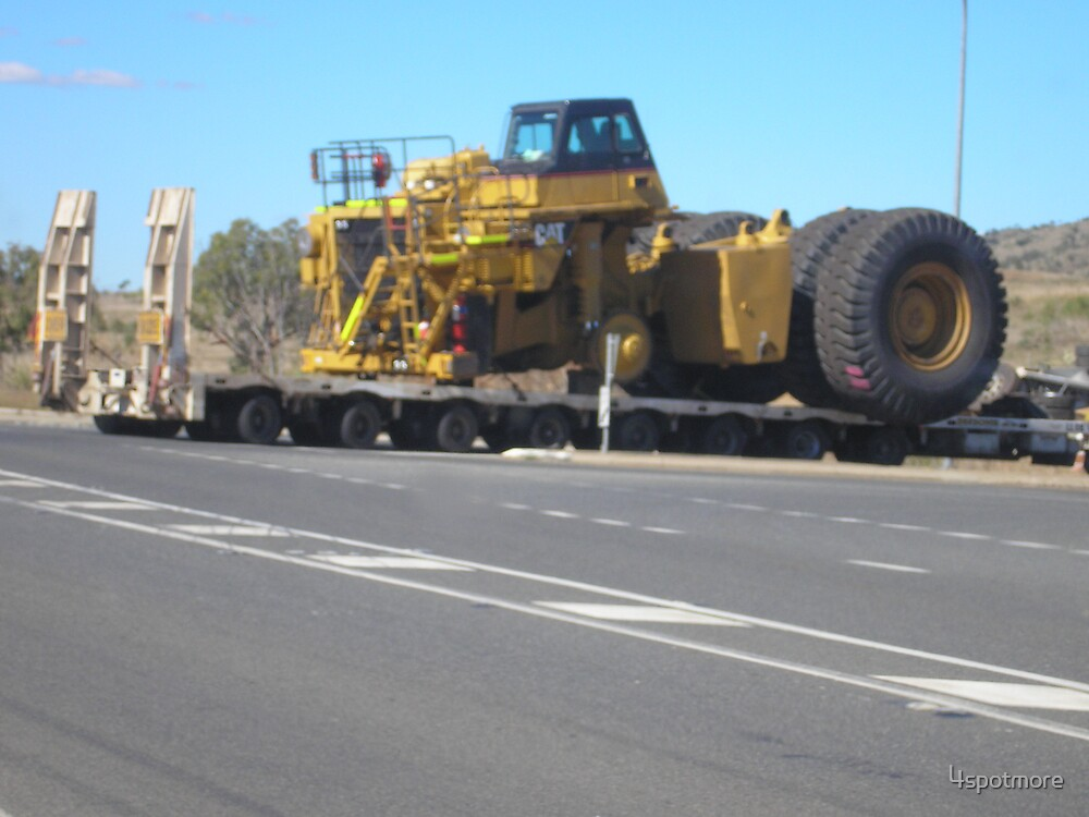 Coal Mine Vehicle on Time Out by 4spotmore