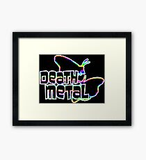 Death Metal Framed Print