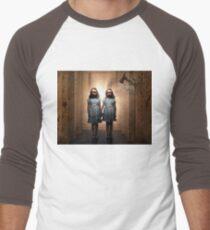 The Shining- Grady Twins Men's Baseball ¾ T-Shirt