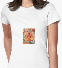 Salad and Bread in Filter T-Shirt