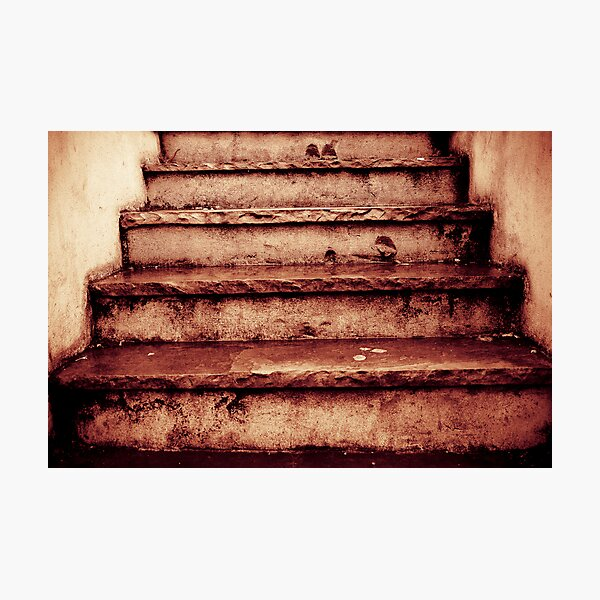 Steps Photographic Print
