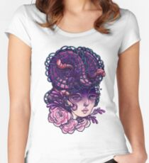 Sureallistic Woman Women's Fitted Scoop T-Shirt