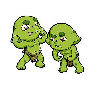 Baby Orcs - Flex by EmeraldDice