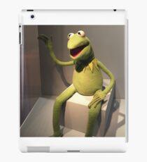 Hi Ho! Kermit the Frog Here iPad Case/Skin