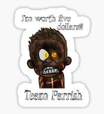 Teen Wolf Portraits - Jordan Parrish Sticker