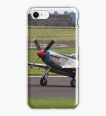P-51 Mustang Landing iPhone Case/Skin